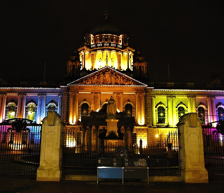 Belfast City Hall, Northern Ireland, UK