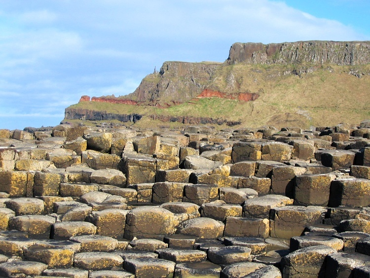 Giant's Causeway, County Antrim, Northern Ireland, UK