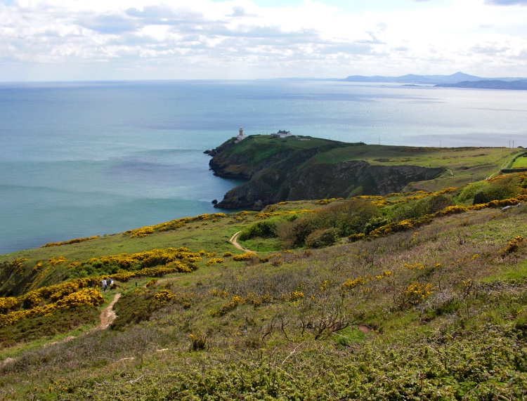 You can find the typical Irish sceneries in Howth