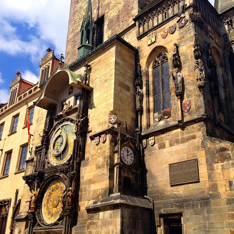 The Astronomical Clock in the Old Town is the oldest still operating astronomical clock in the world