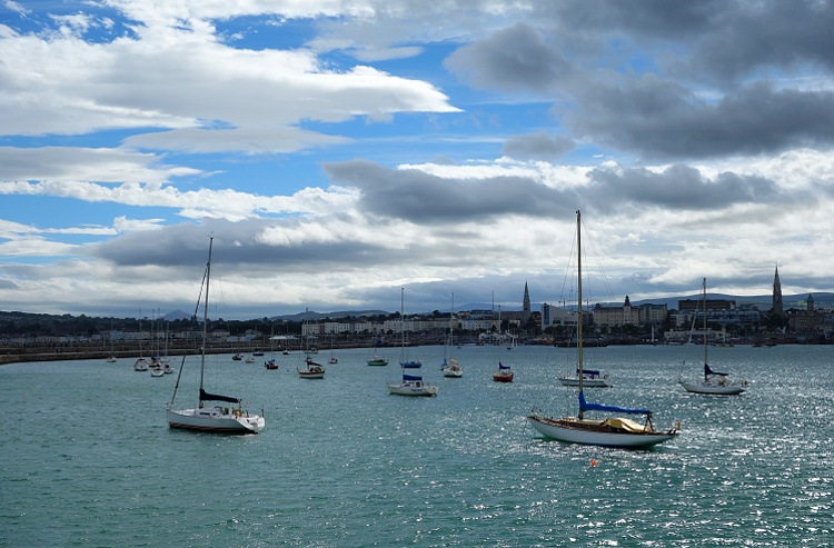 Dun Laoghaire is a pretty seaside town