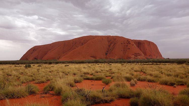 Uluru (Ayers Rock) is a symbol of Australia