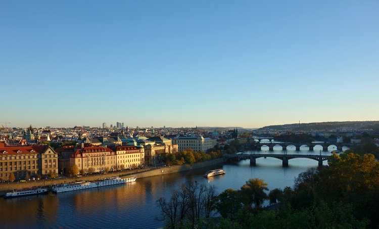 Prague and its many bridges