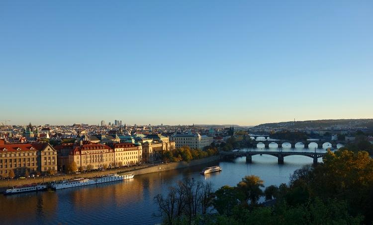 Prague and its many bridges