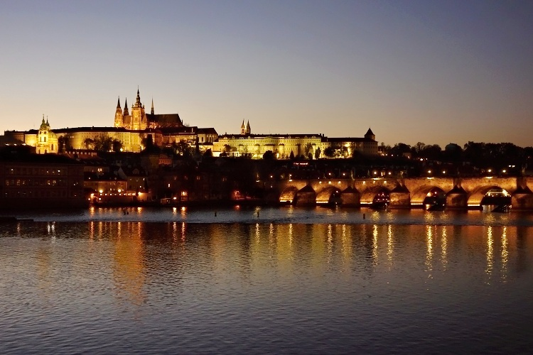 Magical Prague at night