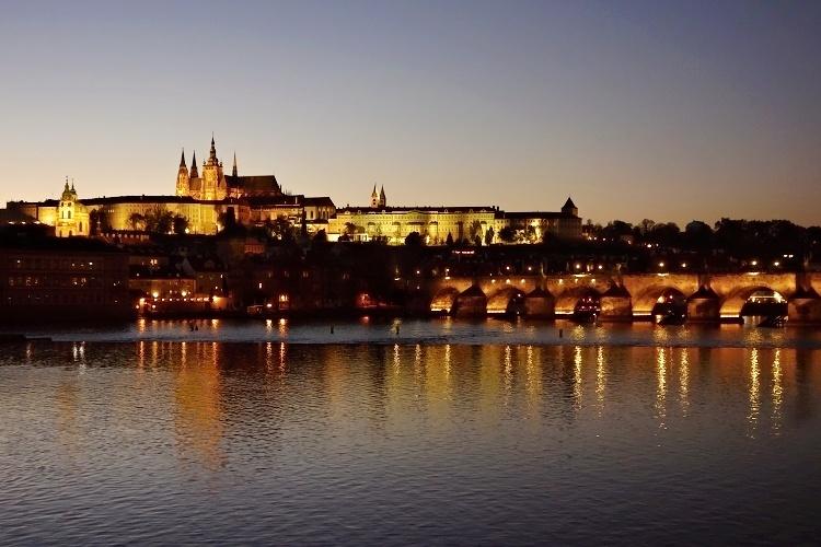 Magical Prague at night