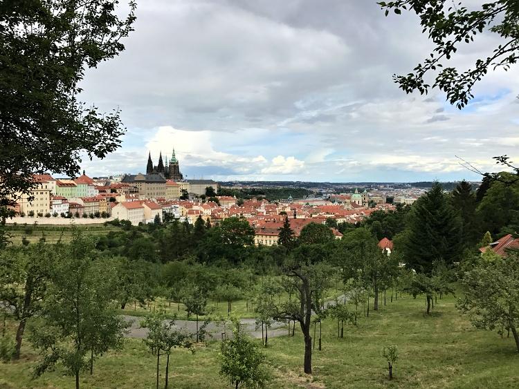Stunning views of Prague from Petrin