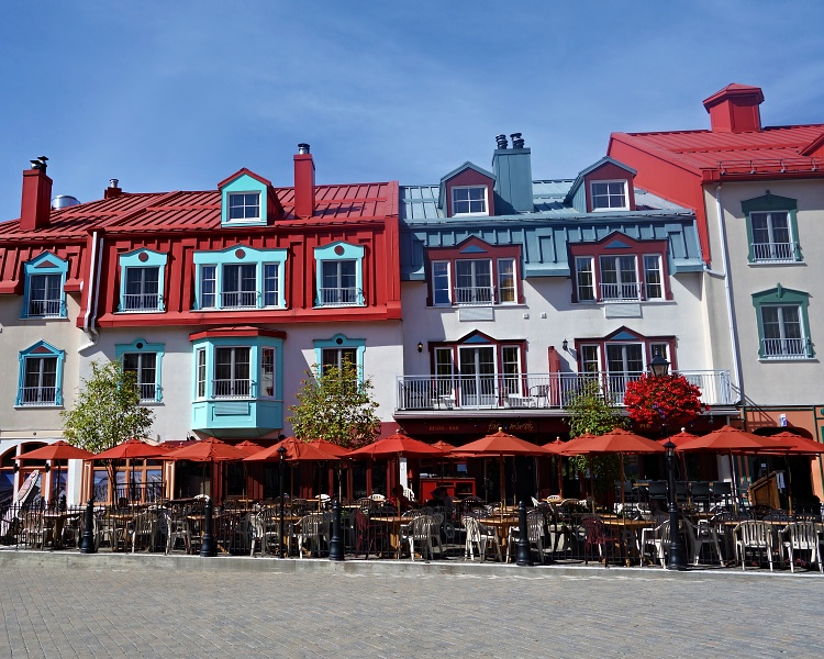 Colourful Mont Tremblant