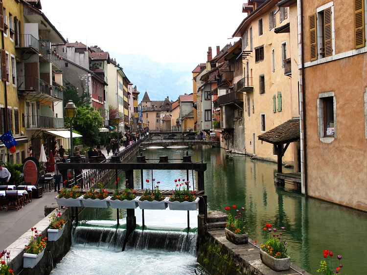 It's about making travel a part of your life, even just a small part (Annecy, France)