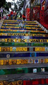 Selaron Steps, Rio de Janeiro, Brazil