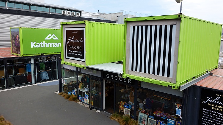 Re:Start Mall, Christchurch, South Island, New Zealand