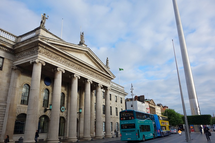 General Post Office, O'Connell Street, Dublin, Ireland