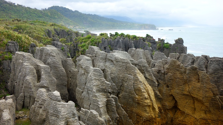 Punakaiki Marine Reserve, South Island, New Zealand