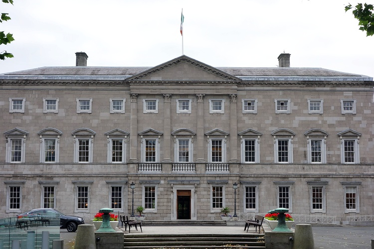 Leinster House, Dublin, Ireland