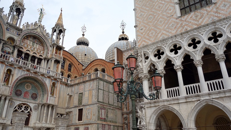 St. Mark's Square in Venice is one of the most beautiful squares in the world