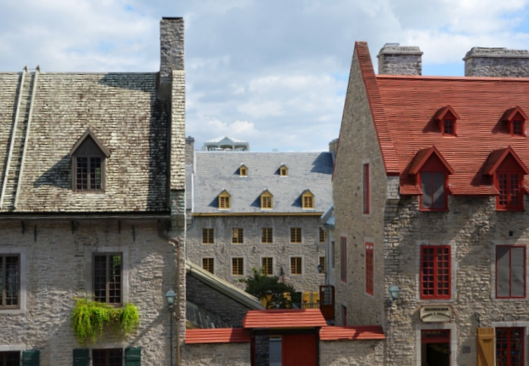 The Old Town in Quebec City