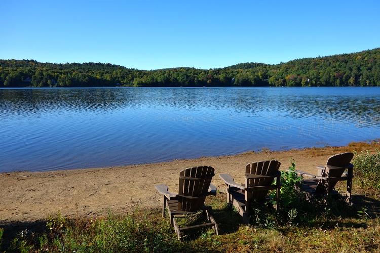 Lac Sauvage (Wild Lake), Quebec, Canada