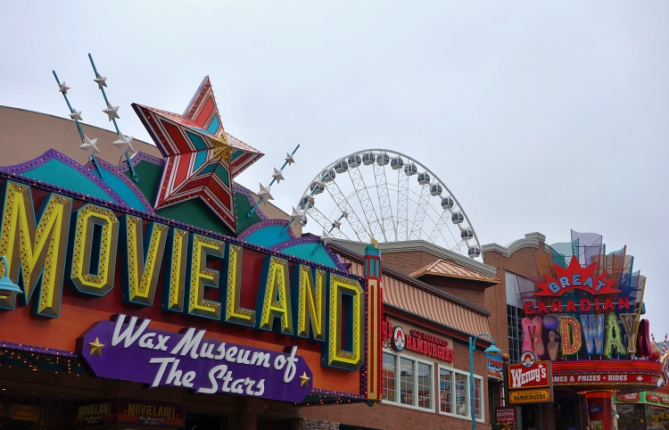 Clifton Hill is the centre of entertainment