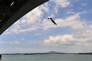 Auckland Bridge Bungy, New Zealand
