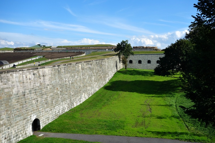 La Citadelle is the largest fort in North America