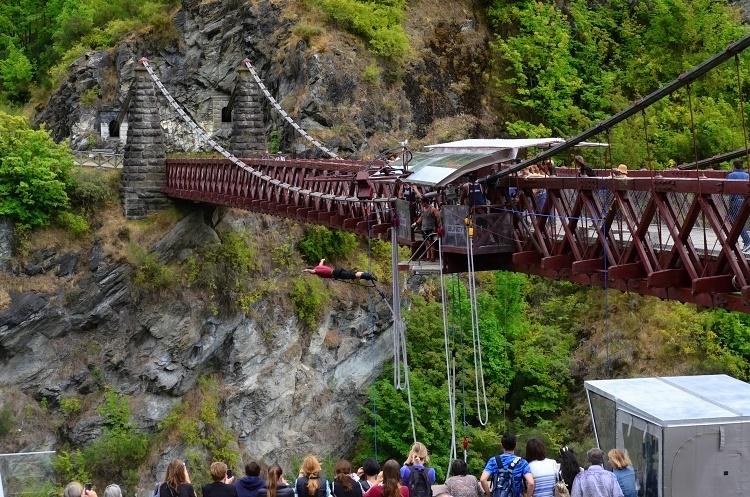 Petr, Kawarau Bridge Bungy