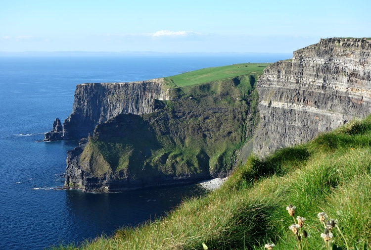 View from the South Side of the Cliffs of Moher, Ireland