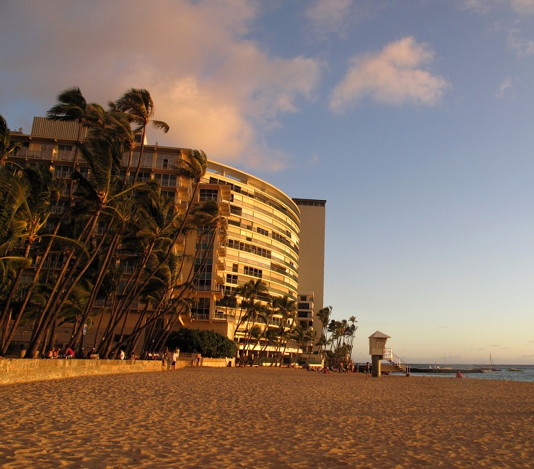 The New Otani Kaimana Beach Hotel, Honolulu, Oahu, Hawaii