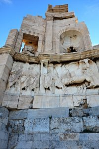 Filopappos Monument, Filopappou Hill, Athens, Greece
