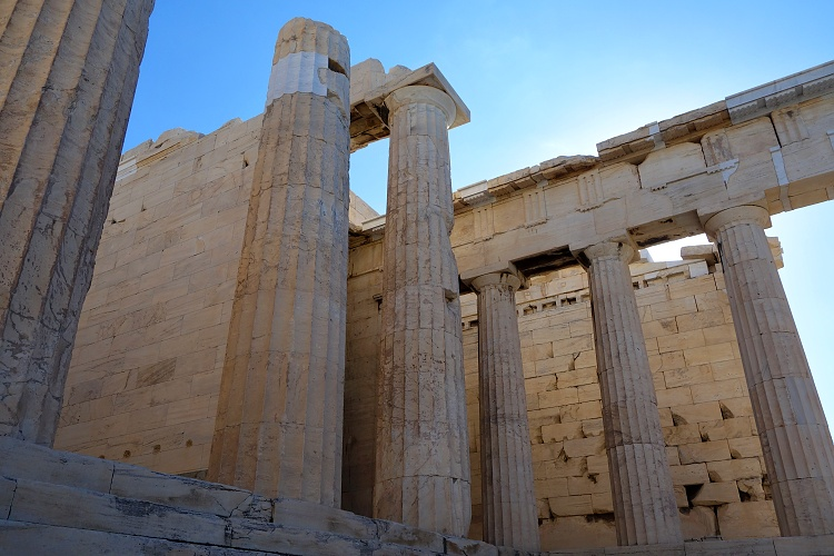 Propylaia, the Acropolis, Athens, Greece