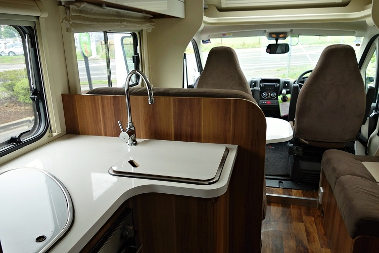 Renting a motorhome is a great experience (four-berth Jucy Casa)