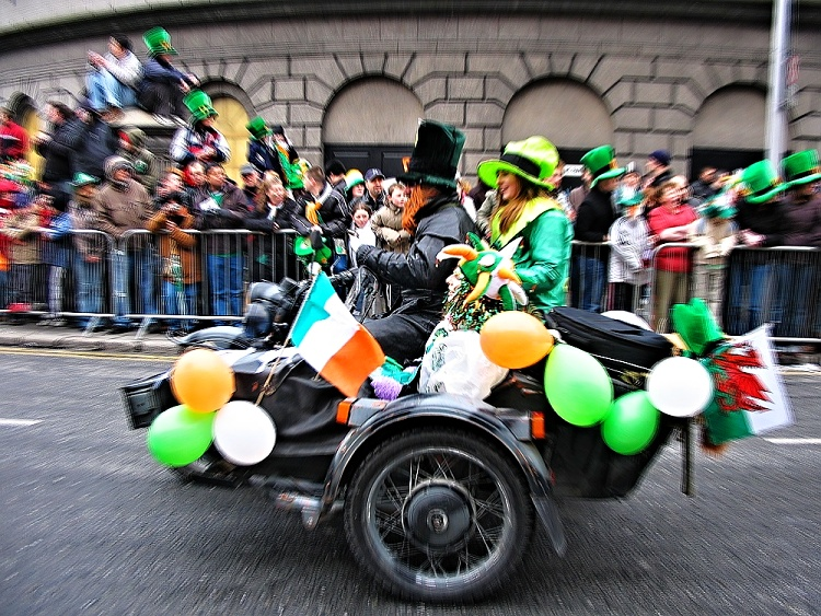 St. Patrick's Day is about celebrating the Irish heritage and having fun at the same time