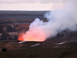 Volcano in Big Island, Hawaii