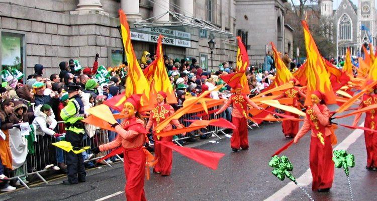 St Patricks Day Parade, Dublin, Ireland