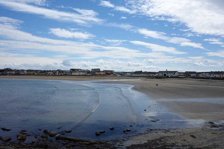 Kilkee is a popular seaside resort well-known because of its Blue Flag beach