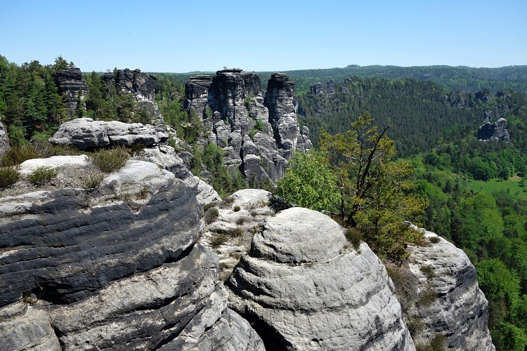 Saxon Switzerland is the only rock national park in Germany