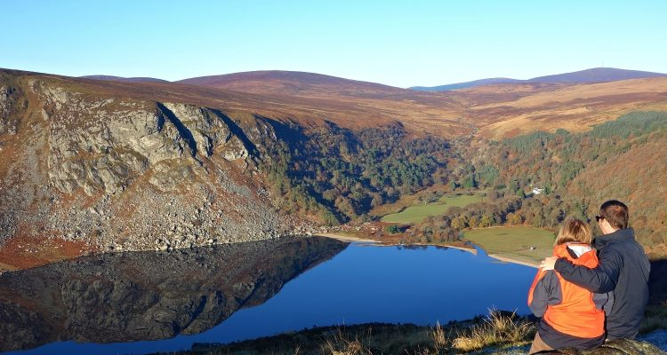 Guinness Lake, Wicklow Mountains, Ireland