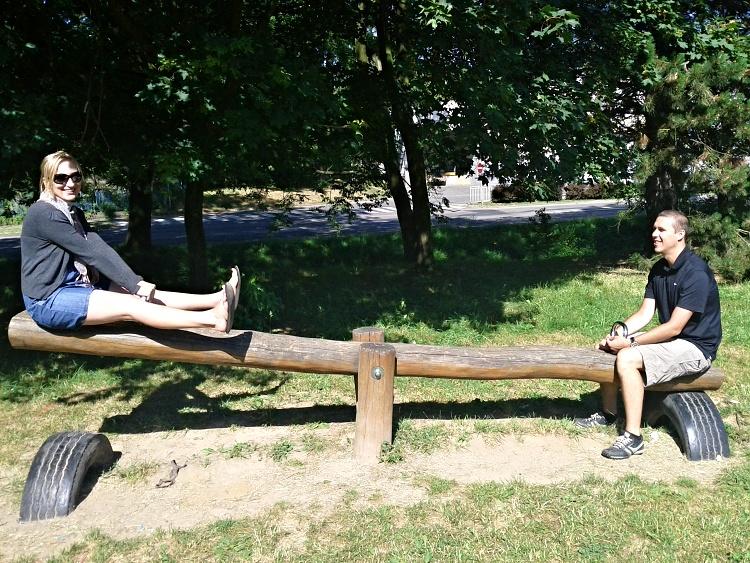 Working on our work-life balance (Pribram, Czech Republic)