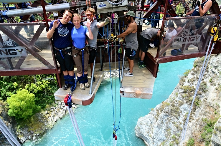 Sometimes you just need to jump (Kawarau Bridge Bungy, Queenstown, New Zealand)