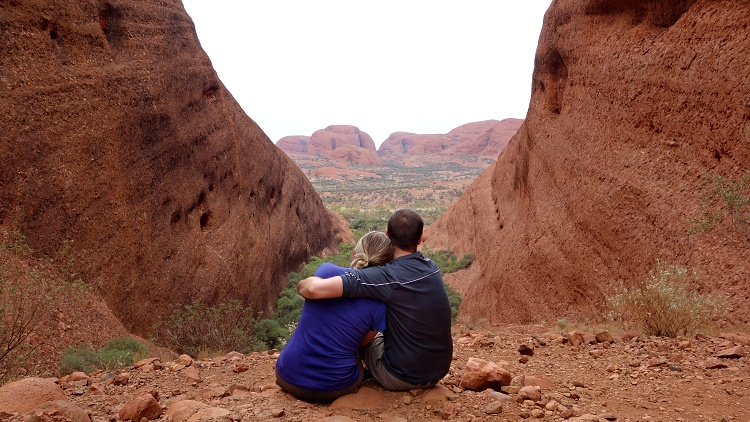 Exploring the heart of Australia (Kata Tjuta, Northern Territory)