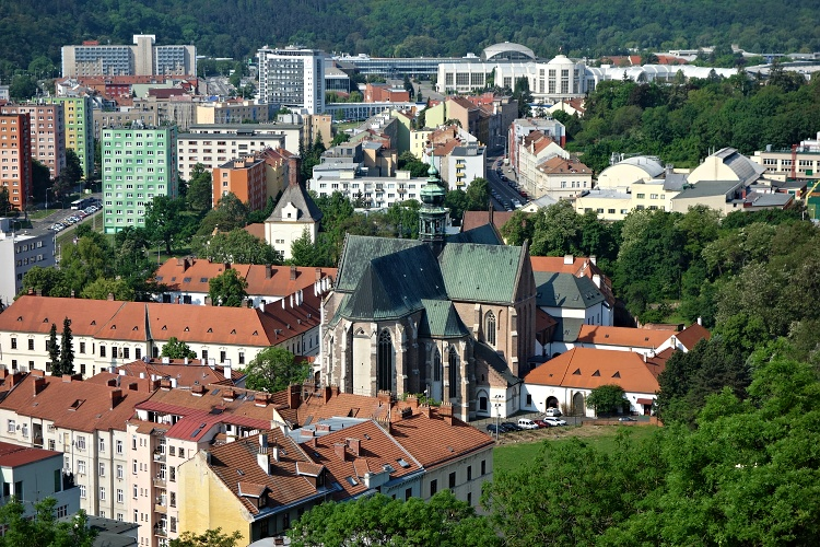 Brno is well-connected with other European cities