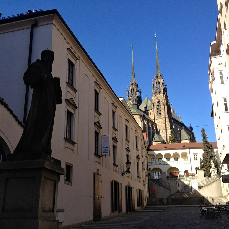 Brno isn't as busy as Prague or Vienna