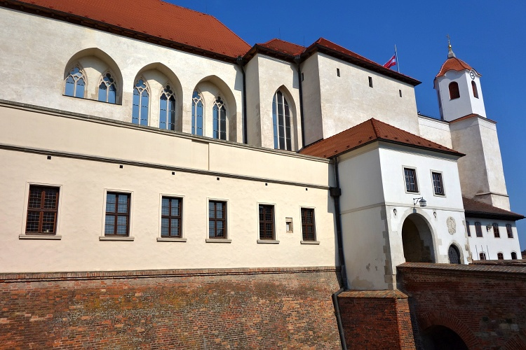 Start your tour at Spilberk Castle that overlooks the historic centre of Brno