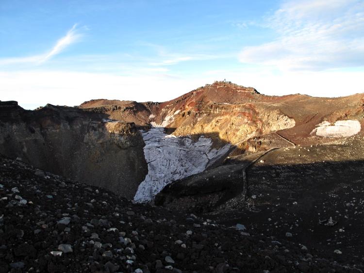 Mount Fuji is an active volcano