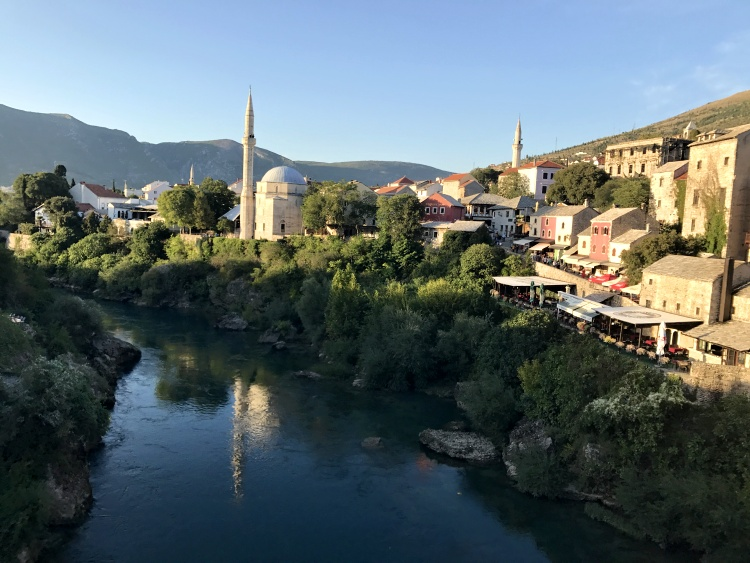 We fell in love with Mostar quickly