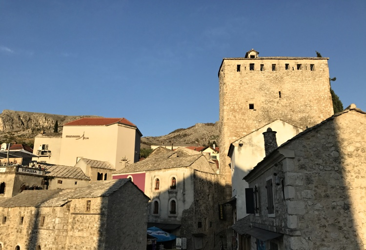 Mostar went through tough times during the Bosnian war