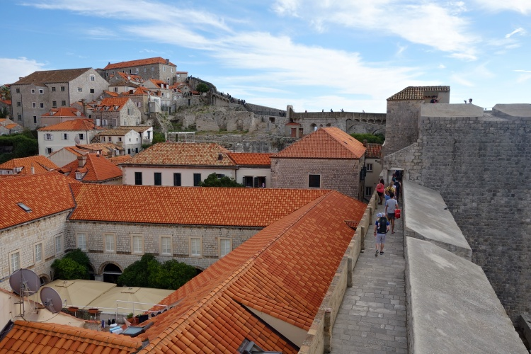 Walk Dubrovnik's City Walls for stunning views from above