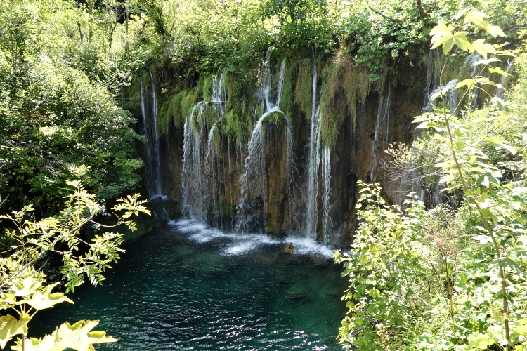 Plitvice Lakes are on the World Heritage List of UNESCO