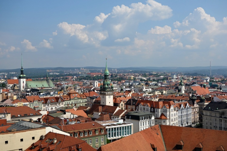 Climb the towers of the Cathedral of St. Peter and Paul for the best views of Brno