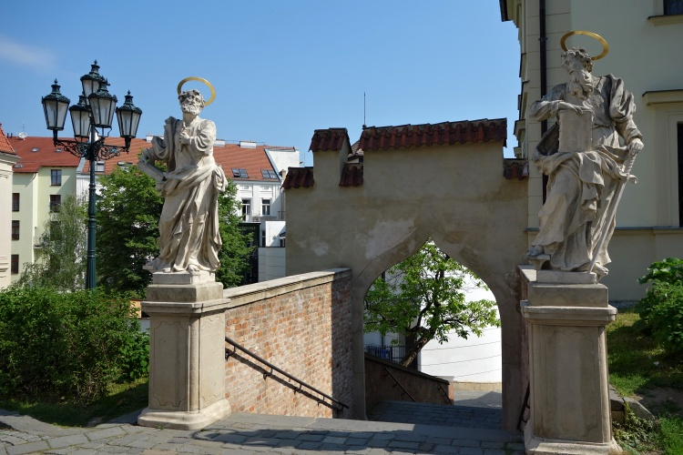 You can find plenty of romantic corners in the historic centre of Brno