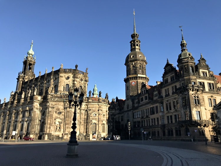 The Old Town in Dresden is full of fairy-tale buildings